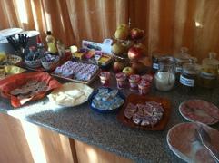 Kleines Frühstücksbuffet