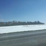 Schnee Richtung Balaton - Foto: Flying Media