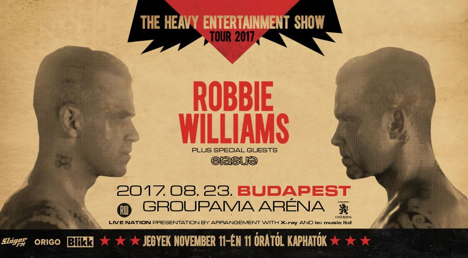 Robbie Williams Live In Budapest Am 23 August 2017 Ungarn Tvcom