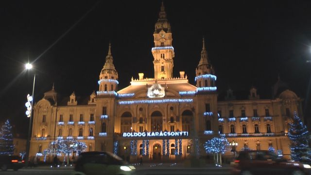 Start Weihnachtsmarkt.Györer Weihnachtsmarkt Mit Einigen Neuheiten Am Start Ungarn Tv